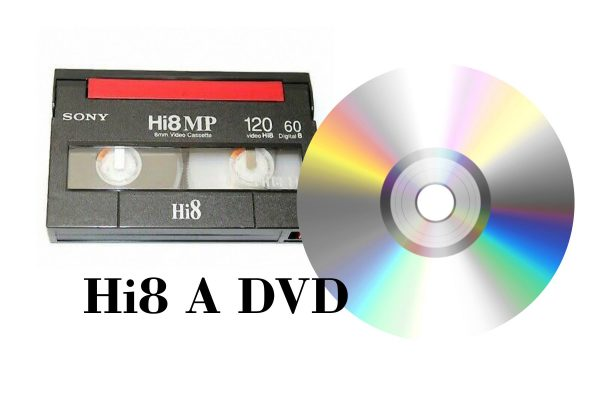 transferencia de Hi8 a DVD