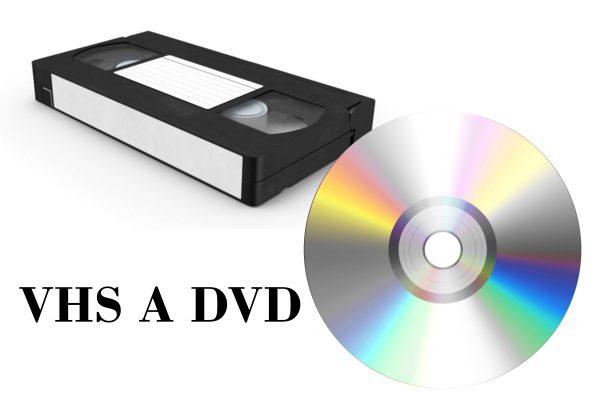 transferencia de VHS a DVD