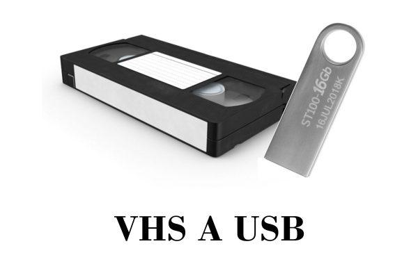 transferencia de VHS a USB