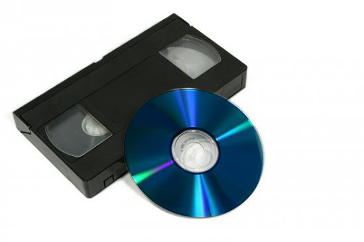 transferencia vhs a dvd