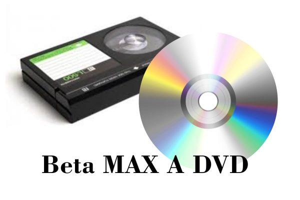 transferencia de beta max a DVD