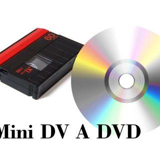 transferencia de Mini DV a DVD